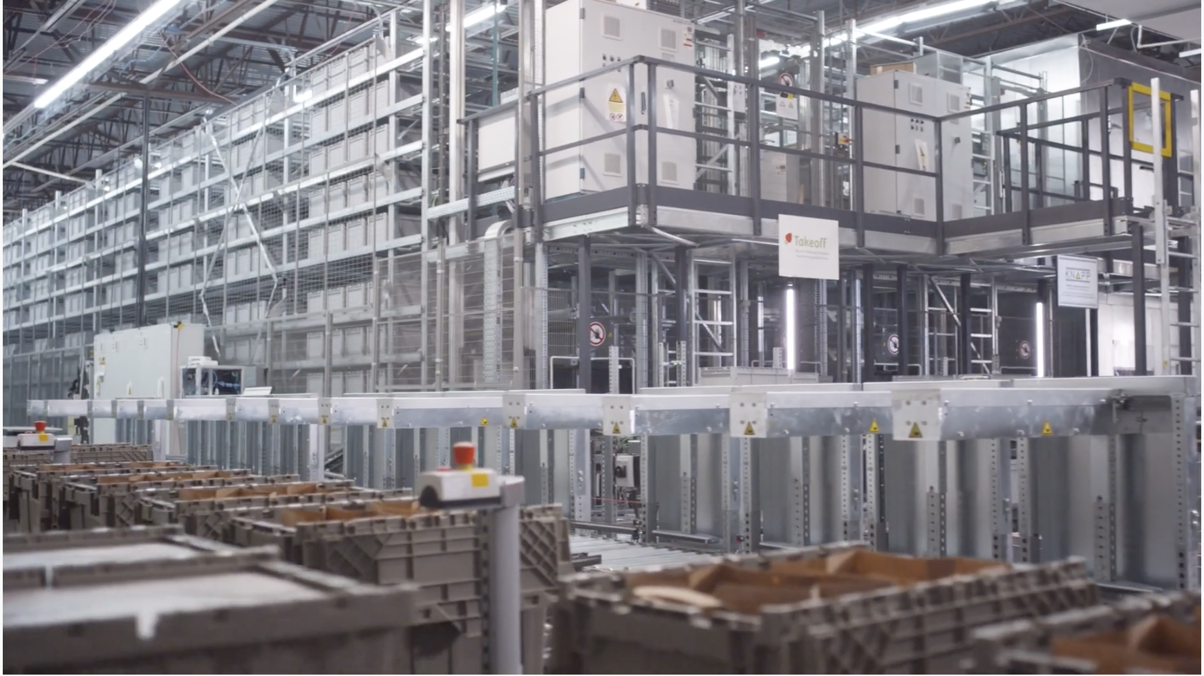 Breaking Down the Nation's First Robotic Grocery Fulfillment Center