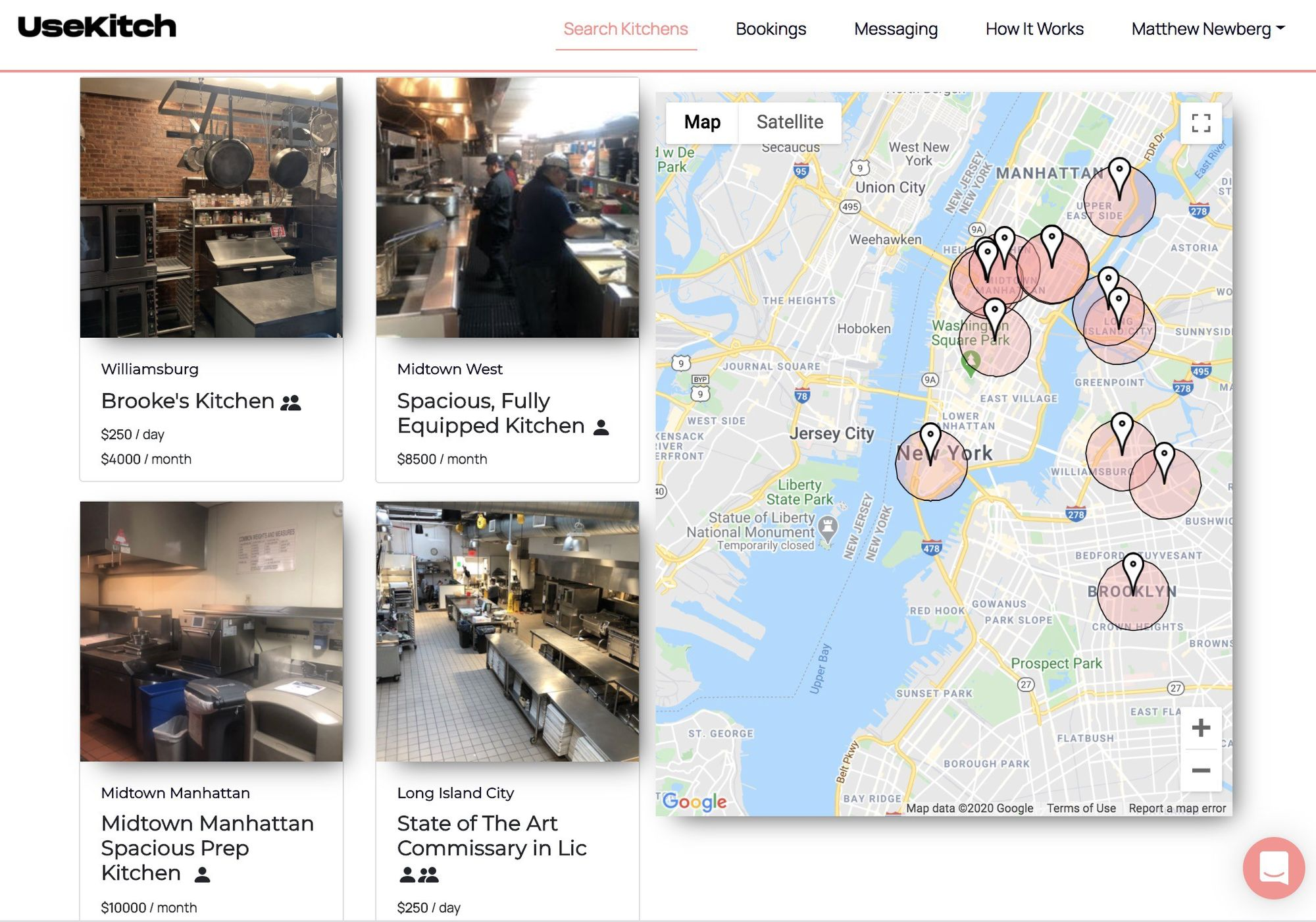 NYC Startup Creates Airbnb For Ghost Kitchens